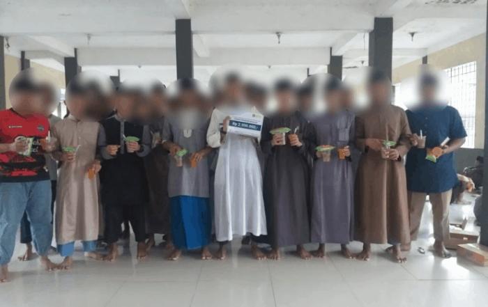 CSPeduli Sosial - Bantuan Ifthor Puasa Asyura di Mahad riyadhussholihiin pandeglang
