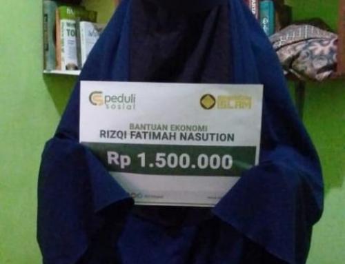 CSPeduli Sosial – Bantuan Ekonomi Saudari Rizqi Fatimah Nasution di Semarang