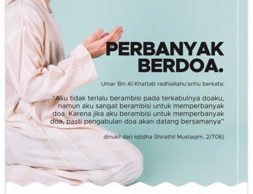 Memperbanyak Doa