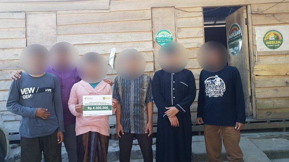 CSPeduli Dakwah - Bantuan Tebar Da'i dan Ustadz di kota Palu desa Wani dan desa Lombonga