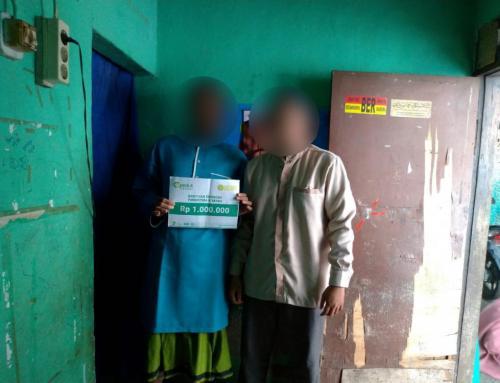 CSPeduli Sosial – Bantuan Ekonomi kepada Bapak Yudhistira di Bogor