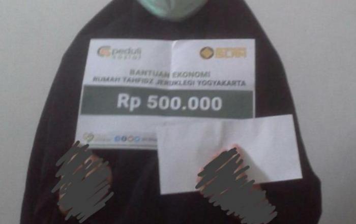 CSPeduli Sosial - Bantuan Ekonomi Ibu Astrid Septyanti