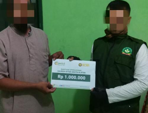 CSPeduli Dakwah – Bantuan Program Dauroh Masjid Al Firdaus Prambanan Klaten