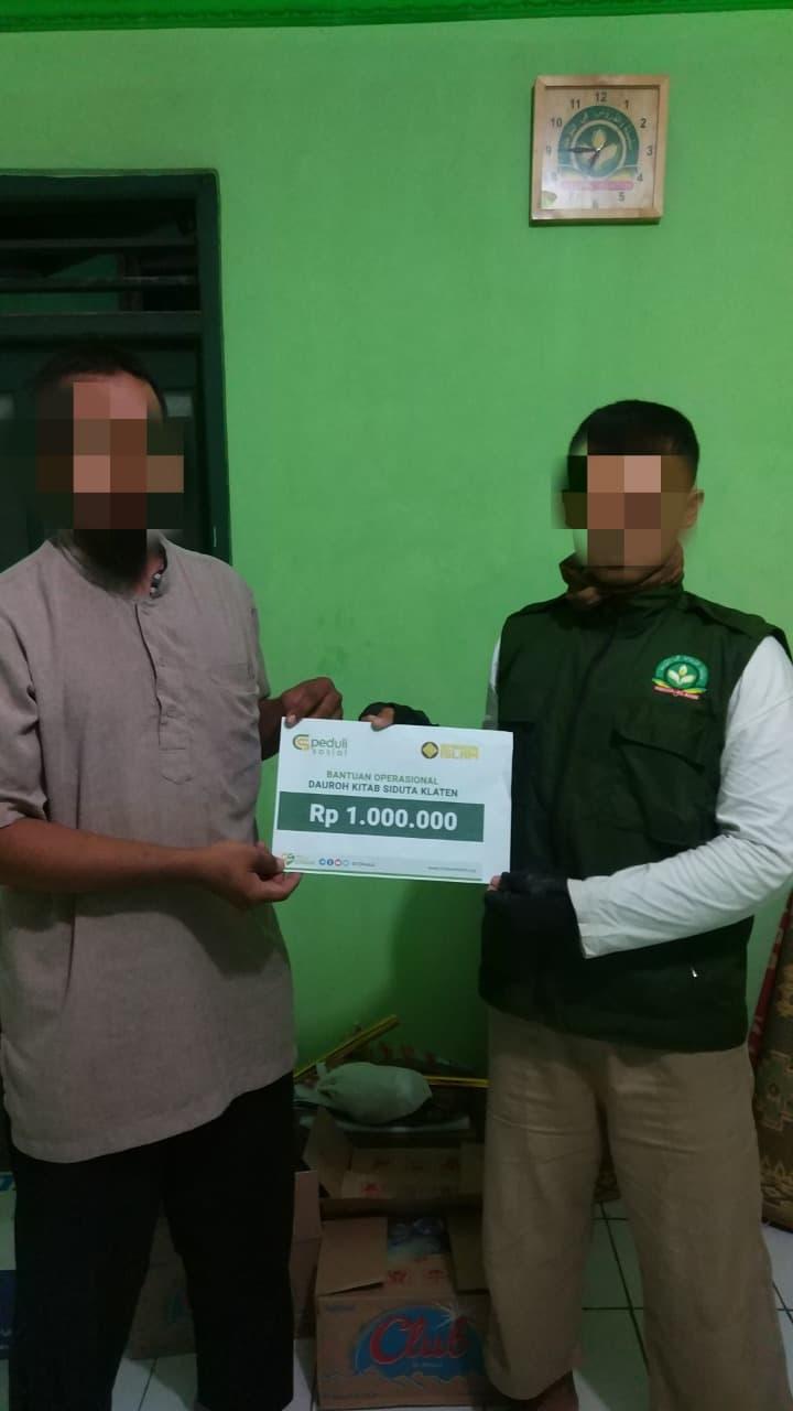 CSPeduli Dakwah - Bantuan Program Dauroh Masjid Al Firdaus Prambanan Klaten