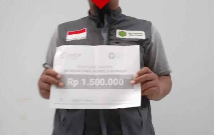 CSPeduli Sosial - Bantuan Operasional Program Yayasan Pembela Sunnah di Bojonegoro