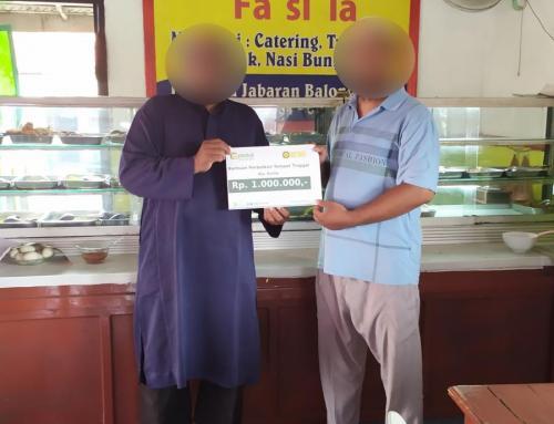 CSPeduli Sosial – Bantuan Ekonomi Ibu Anita di Surabaya