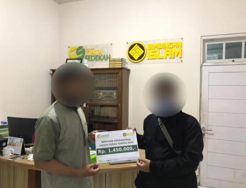 Bantuan Operasional Program Hijrah Diaries kepada Bimbingan Islam