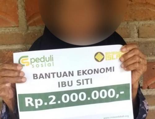 CSPeduli Sosial – Bantuan Ekonomi Kepada Ibu Siti di Ponorogo Jawa Timur