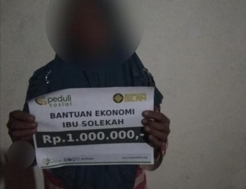 CSPeduli Sosial – Bantuan Ekonomi Kepada Ibu Solekah di Ponorogo Jawa Timur