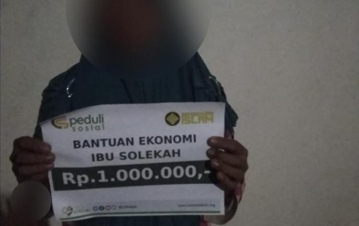 CSPeduli Sosial - Bantuan Ekonomi Kepada Ibu Solekah di Ponorogo Jawa Timur