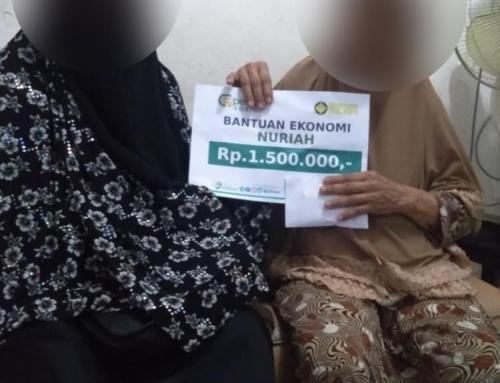 CSPeduli Sosial – Bantuan Ekonomi Untuk Ibu Nuriah di Jakarta Timur