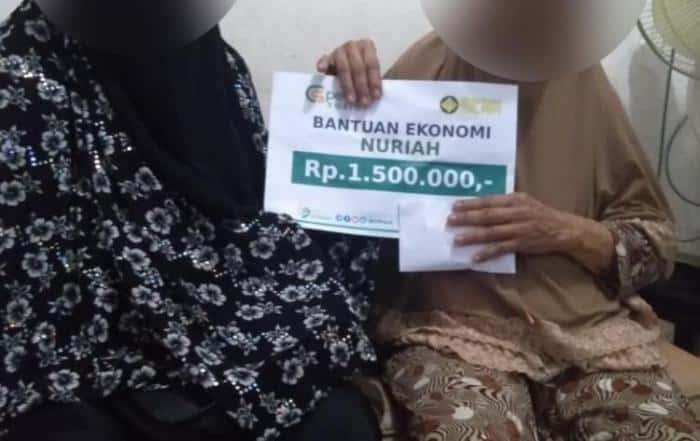 CSPeduli Sosial - Bantuan Ekonomi Untuk Ibu Nuriah di Jakarta Timur
