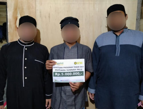 Bantuan dakwah kepada para da'i di Pondok Tahfidz Mutiara Sunnah Palu