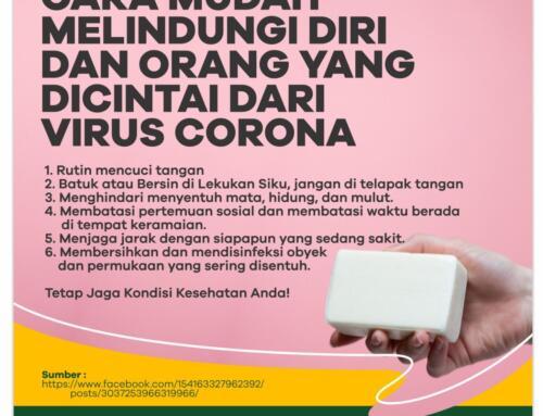 Cara Mudah Melindungi Diri dan Orang Yang Dicintai Dari Virus Corona