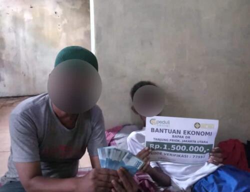 Bantuan Ekonomi Bapak DR di Tanjung Priok, Jakarta Selatan