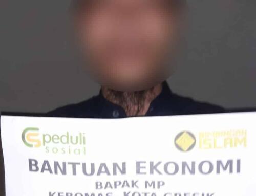 Bantuan Ekonomi Bapak MP yang berada Kebomas, Kota Gresik