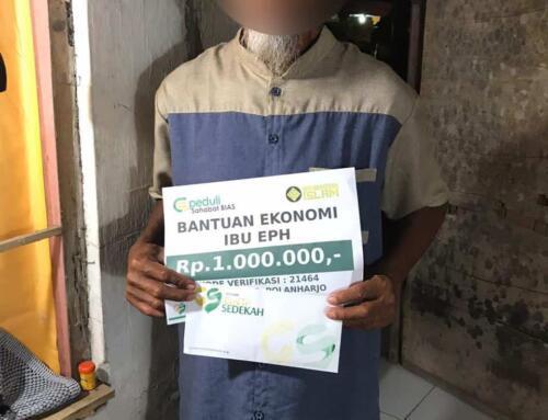 Bantuan Ekonomi kepada ibu EPH untuk modal usaha kecil jangka panjang di Klaten