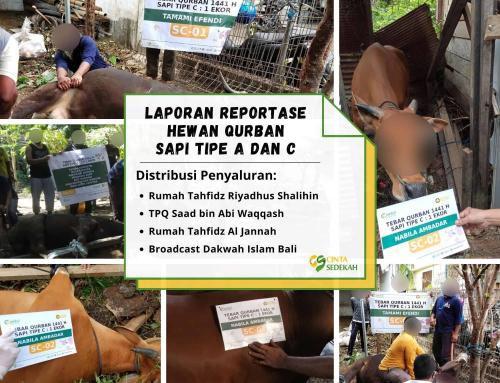 CS Peduli Sosial – Laporan Akhir Program Tebar Qurban Nusantara 1441H