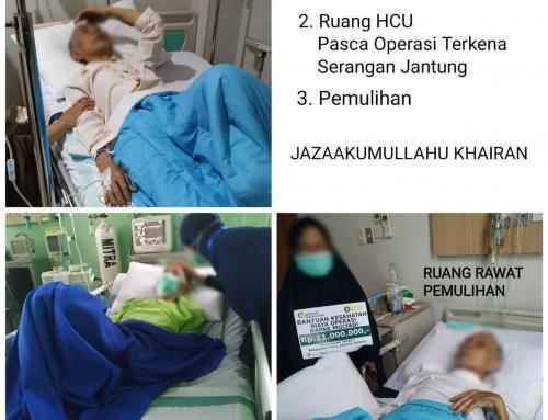 CSPeduli Sahabat BiAS – Bantuan Kesehatan Tahap 1 – Biaya Operasi Bapak Mulyadi di Jakarta Selatan