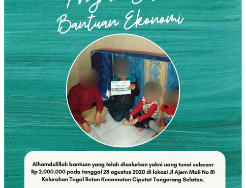 Bantuan Ekonomi Bapak ATG di Tangerang Selatan