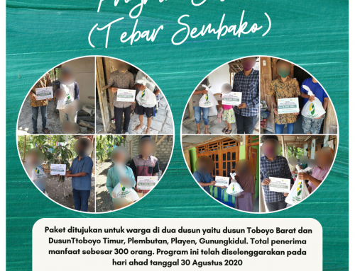 Program Tebar Sembako Baksos di Dusun Toboyo, Playen, Gunungkidul