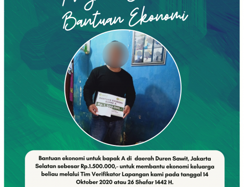 Bantuan Ekonomi untuk Bapak A di Duren Sawit, Jakarta Selatan
