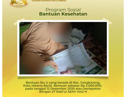 Bantuan Kesehatan untuk Ibu U di Cengkareng, Jakarta Barat
